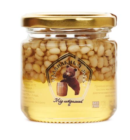 Мед с кедровым орехом