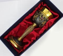Кубок «Державный» с камнями, позолоченный, фото 5