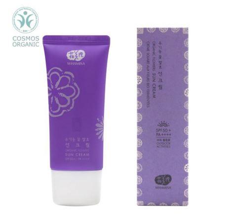 SPF 50+ / PA++++ Organic Flowers Sun Cream