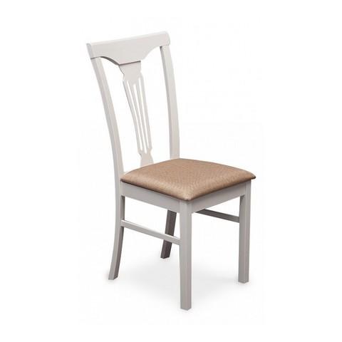 Стул Hermes (Гермес) деревянный с мягким сидением Tetchair белый