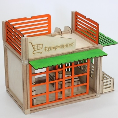 WOODJO SUPERMARKET 69 элементов