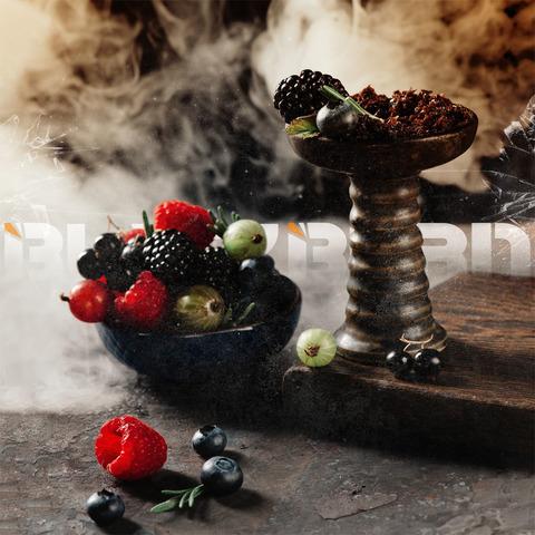 Табак Burn BLACK 25 г Something Berry