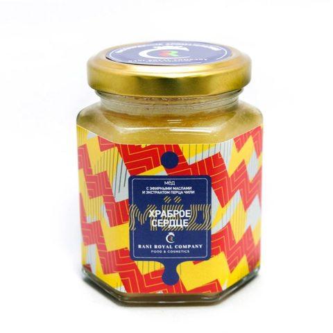 Мёд с эфирными маслами «Храброе сердце» 240 г