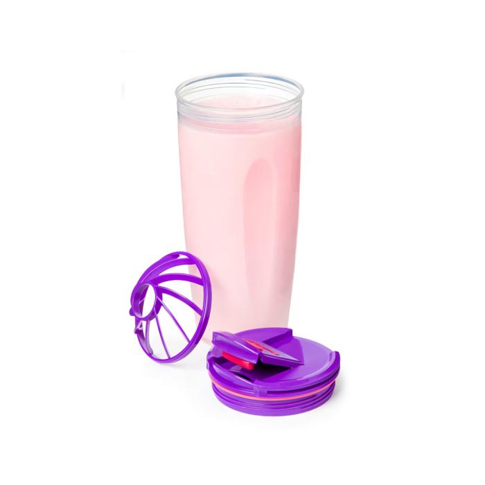 """Шейкер спортивный Sistema """"TO GO"""" 700 мл, цвет Фиолетовый"""