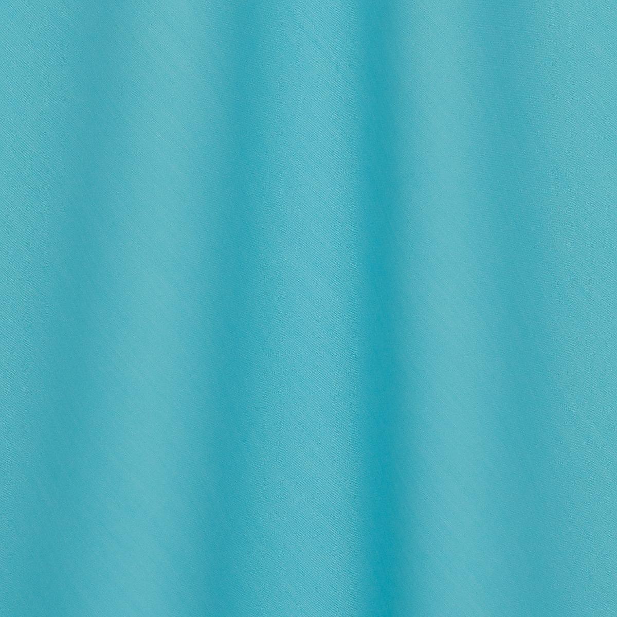 Плотная шерстяная ткань бирюзового цвета с шёлком
