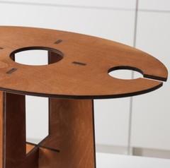 Столик-поднос для вина и двух бокалов, фото 4