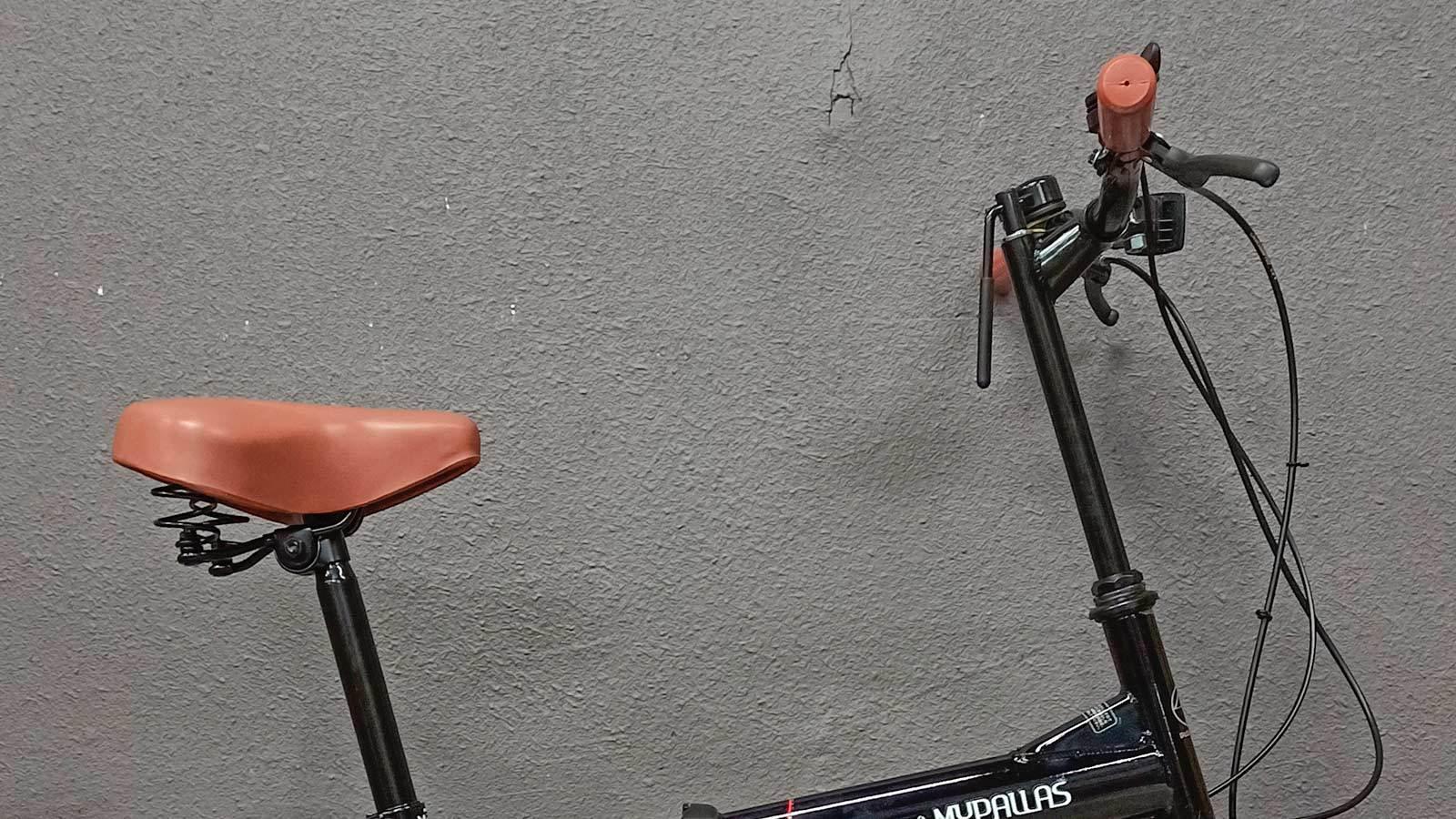 седло и руль складного велосипеда MyPallas M200