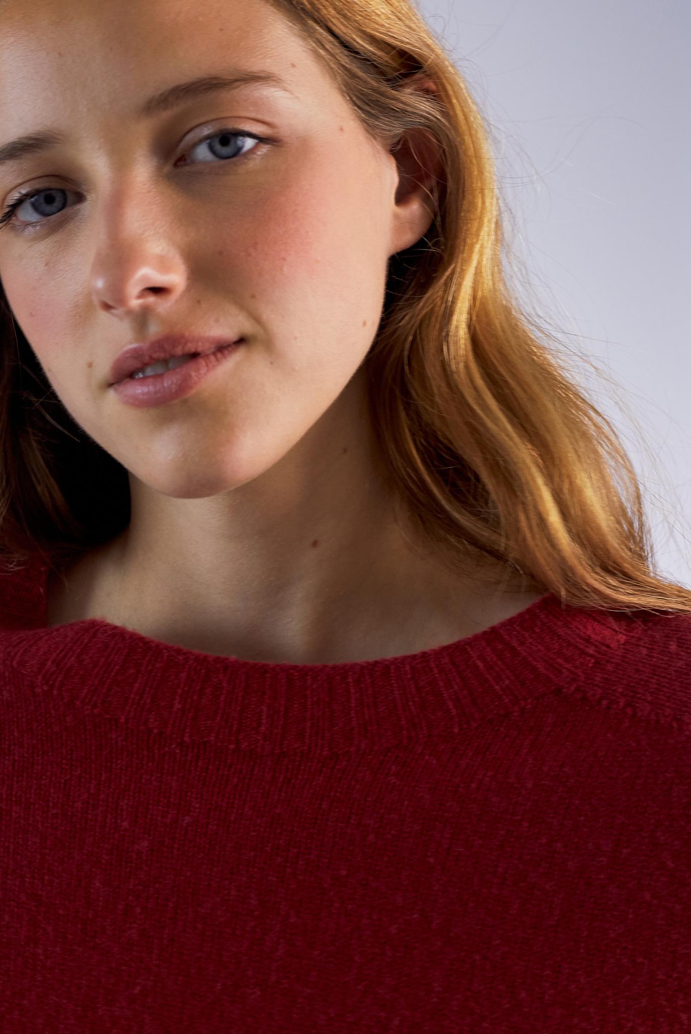 NOLENE - Шерстяной джемпер с рукавами реглан