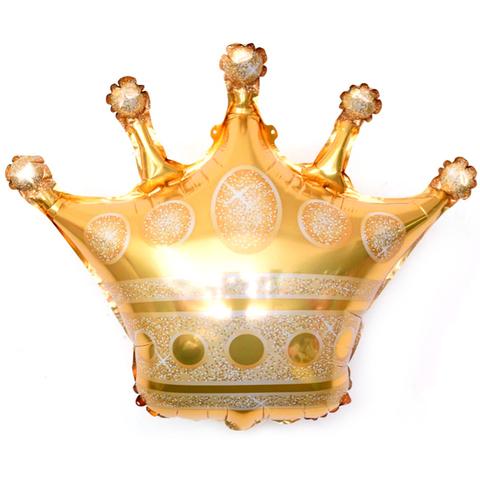 Шар-фигура Корона золотая, 71 см