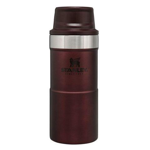 Термокружка Stanley The Trigger-Action Travel Mug 0.35л. бордовый (10-06440-043)