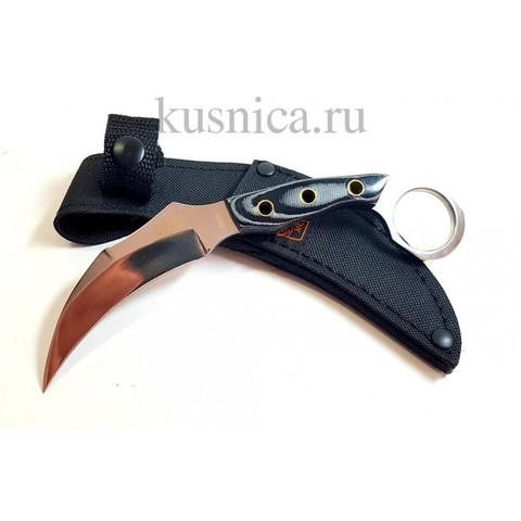 Нож керамбит, сталь 440, арт.S239