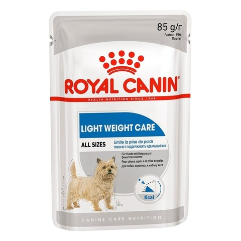 Влажный корм Royal Canin Light Weight Care для собак, склонных к набору веса - 85 г
