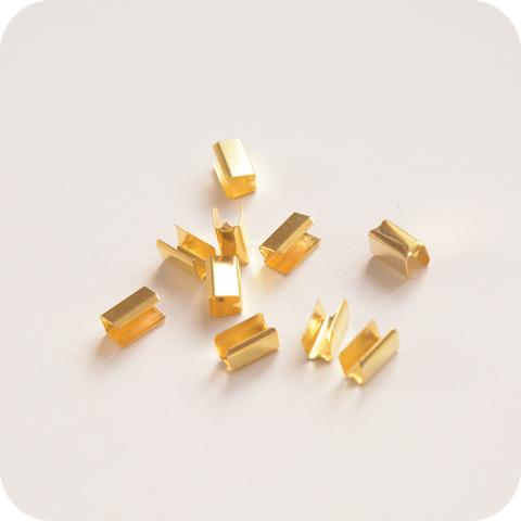 Зажим соединитель 9*4*5мм, золото
