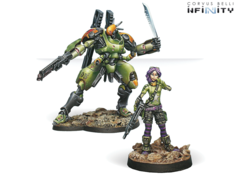 Scarface & Cordelia. Armored Mercenary Team