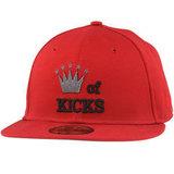 Бейсболка New Era king красная фото спереди