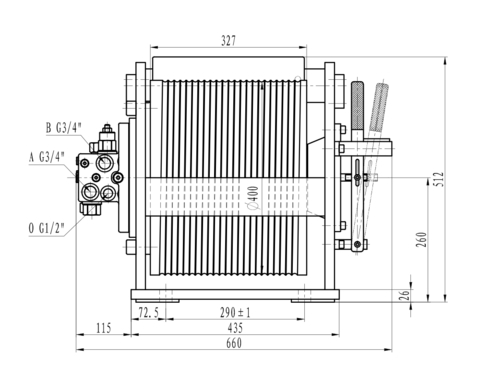 Стандартная лебедка IYJ333-62-33-12-ZPL