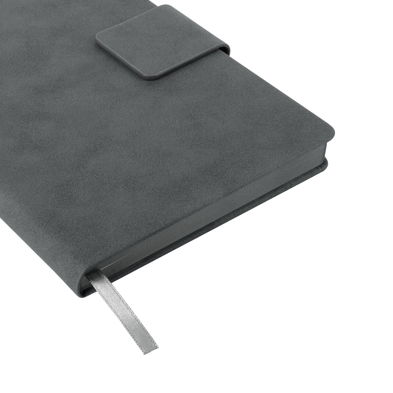 Ежедневник Portobello Trend, Ritz, недатированный, серый, твердая обложка, срез-фольга/серый