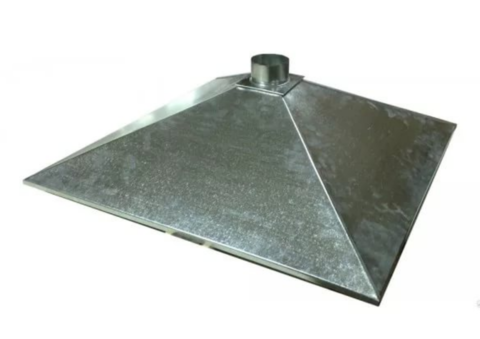 Зонт купольный 1000х500/ф200 мм