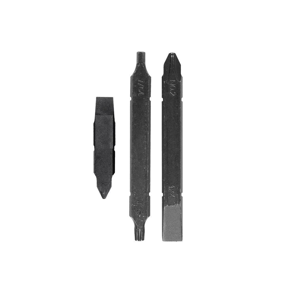 Дополнительный набор бит Leatherman Mut bit kit (3 двухсторонние биты)