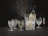 NOBLESSE - Набор 5 предметов:ведро для охлаждения вина 22,5 см d18см+ 4 фужера 350 мл