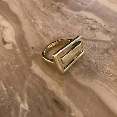 Кольцо Стоунхэнди, позолота
