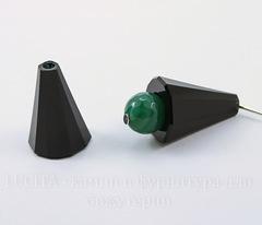5540 Бусина - конус Сваровски Jet 17 мм