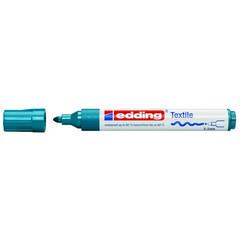 Маркер для текстиля Edding E-4500 темно синий (толщина линии 3 мм)