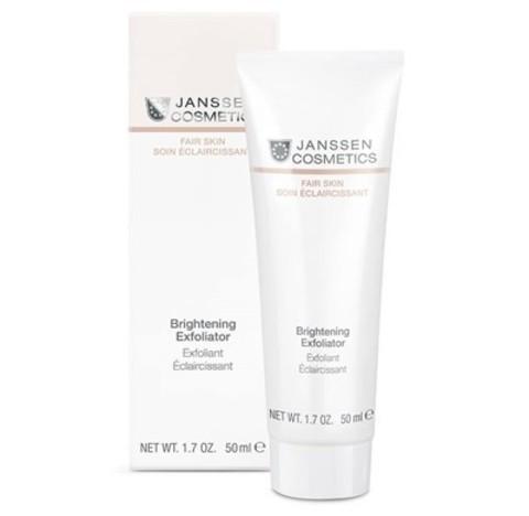 JANSSEN COSMETICS Пилинг-крем для выравнивания цвета лица | Brightening Exfoliator