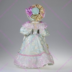 Сувенирная кукла в летнем платье для прогулок