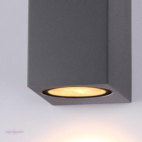 Уличный настенный светильник 370600 серии TESTA