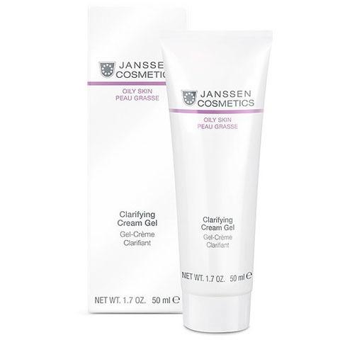 Janssen Oily Skin: Себорегулирующий крем-гель для жирной кожи лица (Clarifying Cream Gel)