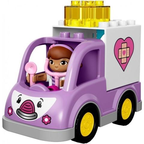 LEGO Duplo: Скорая помощь Доктора Плюшевой 10605 — Doc McStuffins Rosie the Ambulance — Лего Дупло