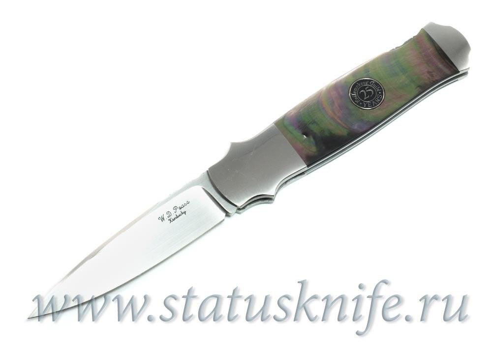 Нож William D. Pease Custom 25th Anniversary