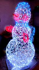 Световой Снеговичок