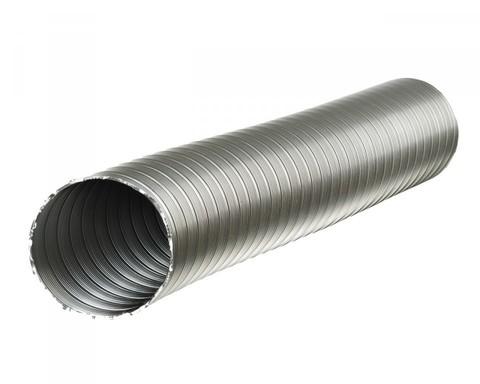 Полужесткий воздуховод из нержавеющей стали ф130 (1м)