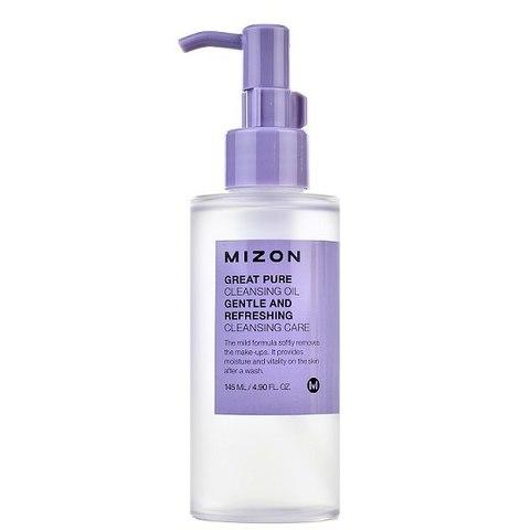 Гидрофильное масло Mizon Great Pure Cleansing Oil