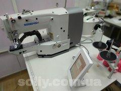 Фото: Закрепочная промышленная швейная машина с сенсорным управлением  Gemsy GEM 1900 Е-JH