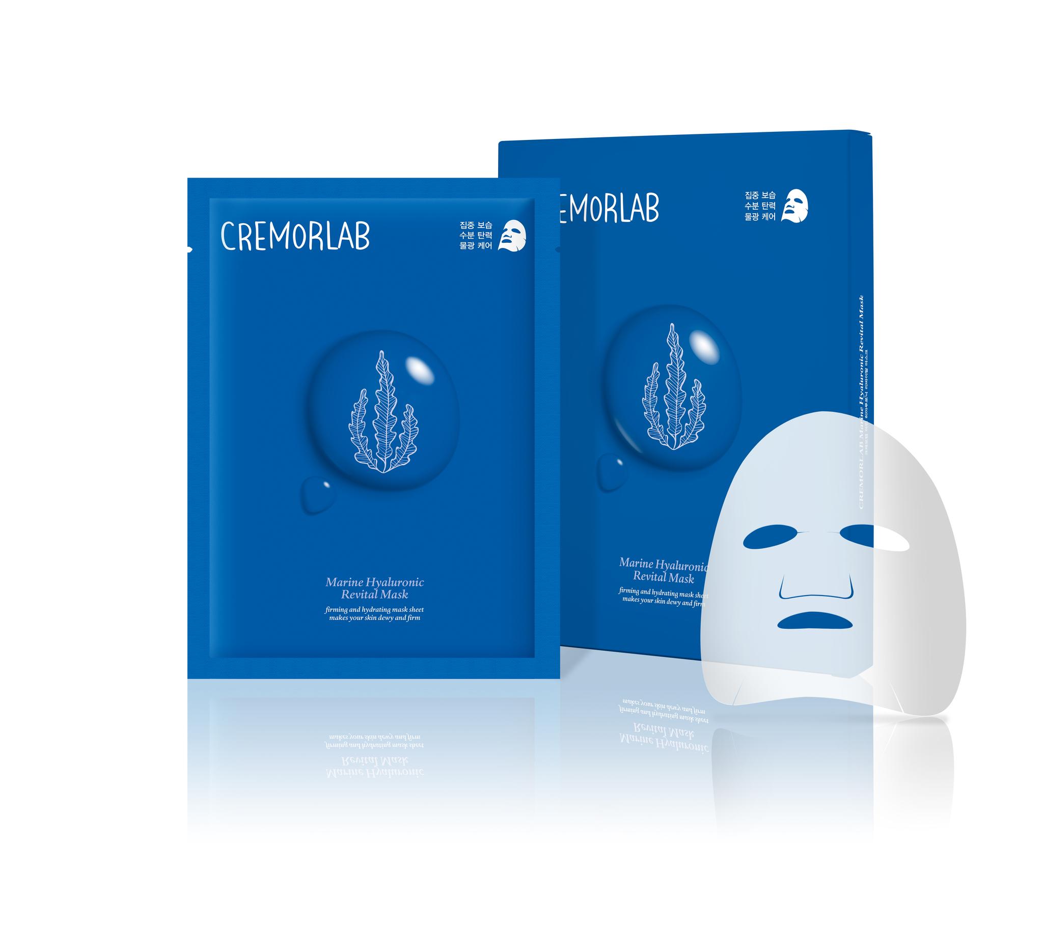 CREMORLAB Ревитализирующая маска с морскими водорослями, 1шт.
