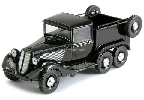 GAZ-21 PickUp 6х4 1936 black 1:43 DeAgostini Auto Legends USSR #113