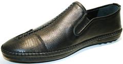 Мужские туфли летние, кожаные, спортивные Luciano Bellini