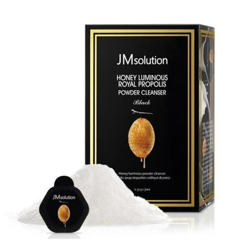 JM Solution Энзимная пудра с экстрактом прополиса  Honey Luminous Royal Propolis Powder Cleanser 3.5 г