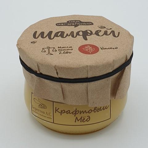 Мёд натуральный крафтовый Шалфей БЕРЕСТОВ А.С., 260 гр