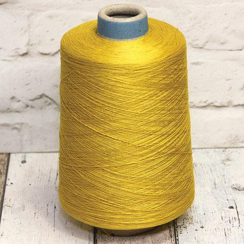 Шелк с хлопком SESIA / LOTTO 2000 золотисто-желтый