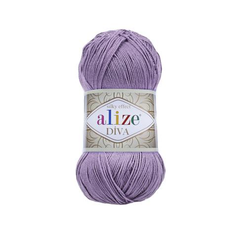 Пряжа Alize Diva 622 фиолетовый