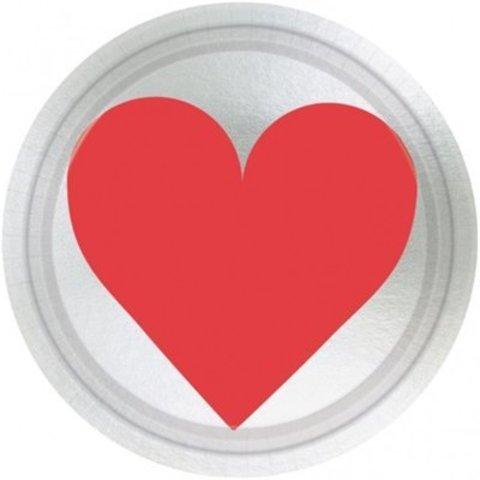 Тарелки малые Ключ к твоему сердцу