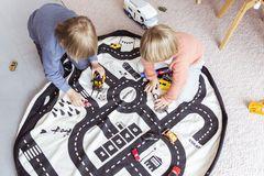 Коврик-мешок для игрушек (2 в 1) Play&Go Print ДОРОЖНАЯ КАРТА 79972 3