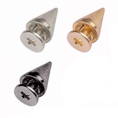 Шип на винте, h- 10мм. d - 7 мм.,  (выберите цвет)