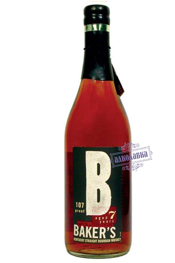 Бурбон Джим Бим Бейкерс. Американский виски. 7 лет выдержки. 0,75 Л