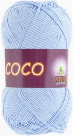 Пряжа Coco (Vita cotton) 4323 Светло-голубой