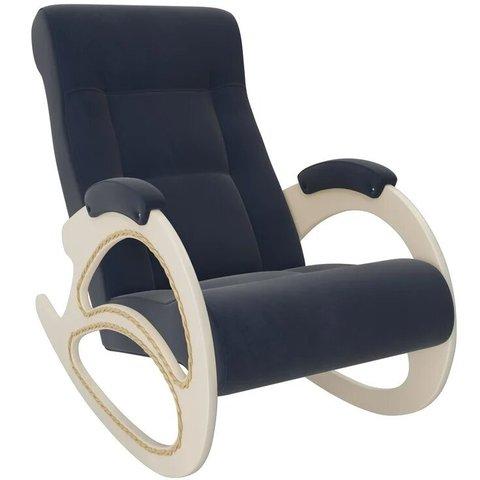 Кресло-качалка Комфорт Модель 4 дуб шампань/Verona Denim Blue